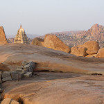 At Hampi, one evening