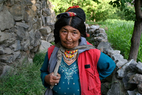 A Woman from Dha Village, Ladakh, India