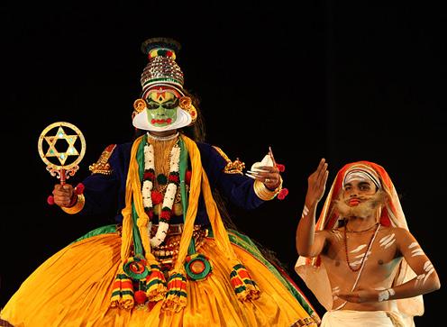 Kathakali - Krishna