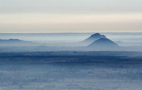 Nandi Hills on a morning