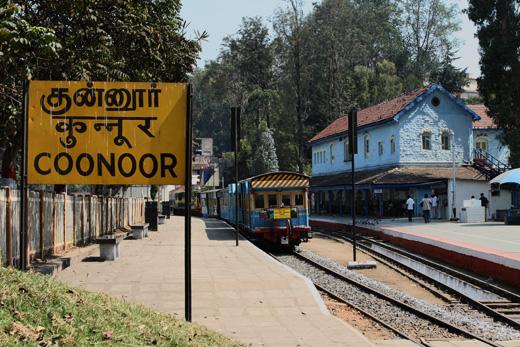 nilgiri mountain railways