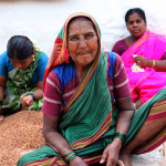 Writing from Badami + A cheerful old woman