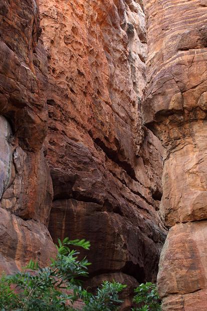 Sandstone rocks, Badami
