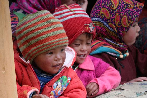 ladakhi children