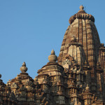 The towers of Khajuraho