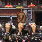 Photos of Thrissur Pooram