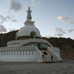 Images: Shanti Stupa, Leh, Ladakh