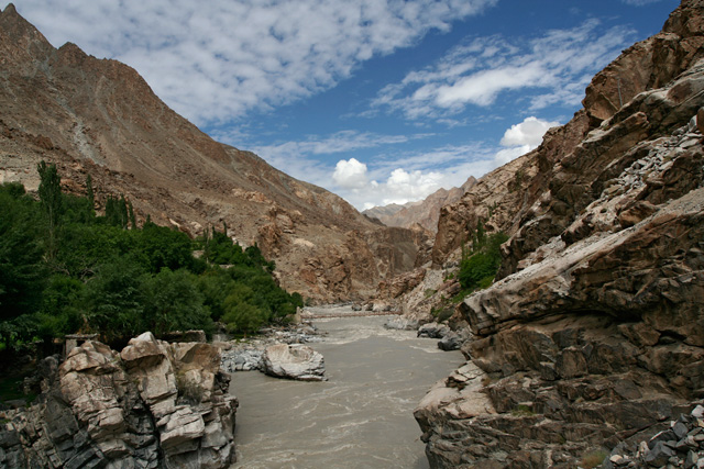 indus valley in dha, ladakh