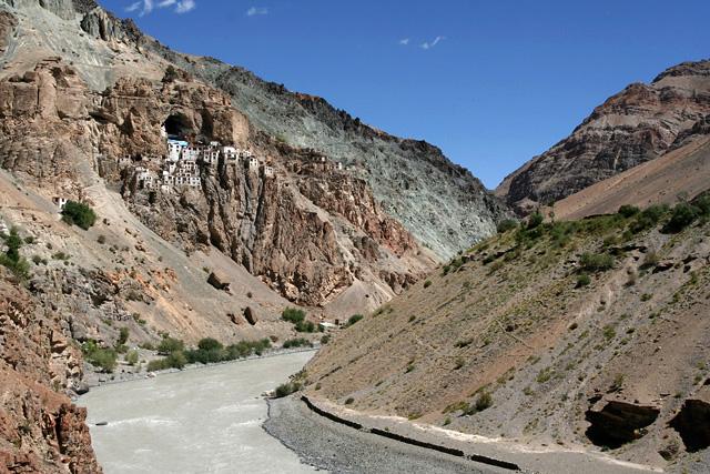 phugtal monastery, zanskar