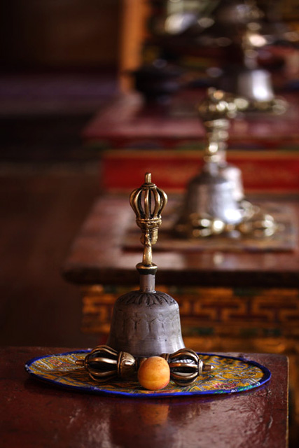 vajra at a ladakh monastery