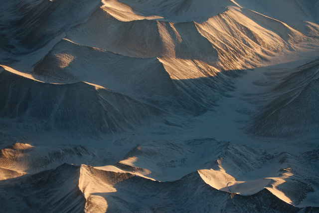 View from the flight - Delhi to Leh