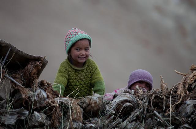 children zanskar