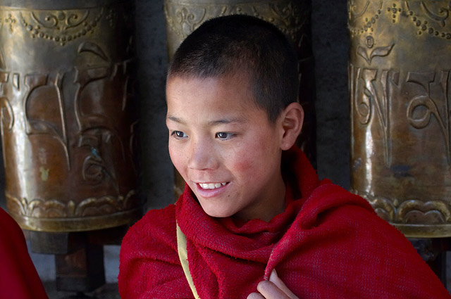 young monk in tawang