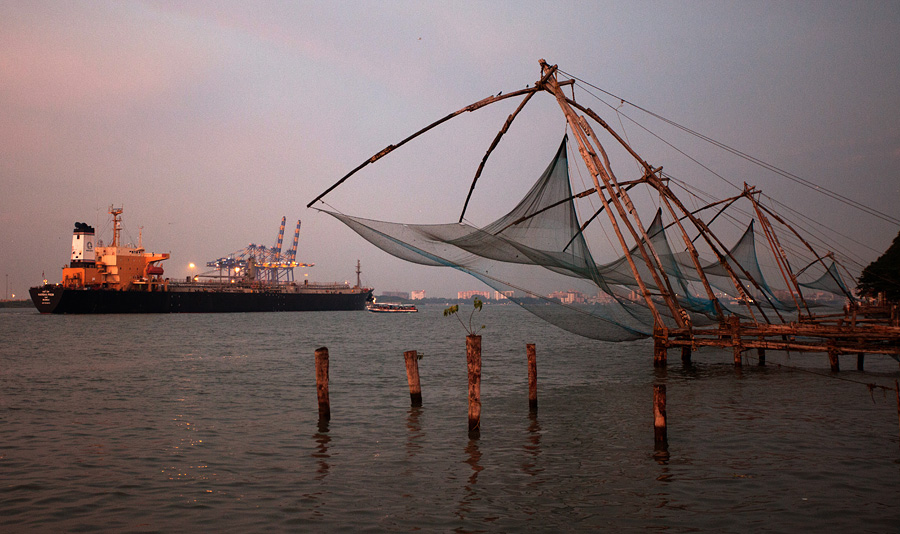 Chinese Fishing Nets, Fort Kochi