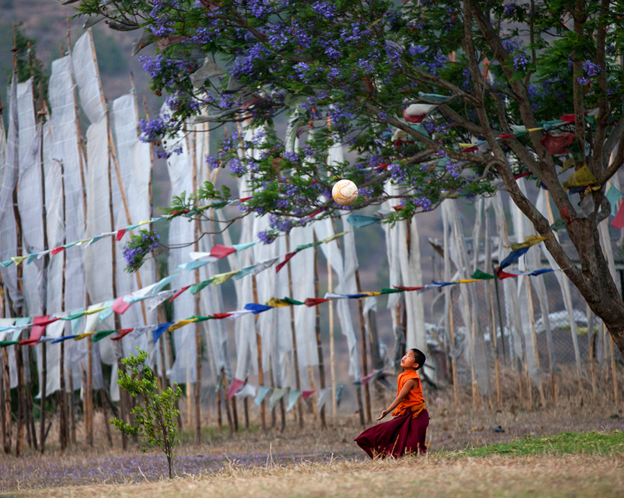 Monk, Bhutan