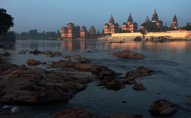 Royal Cenotaphs or Chhatris, Orchha