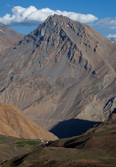 dhemul village, spiti valley