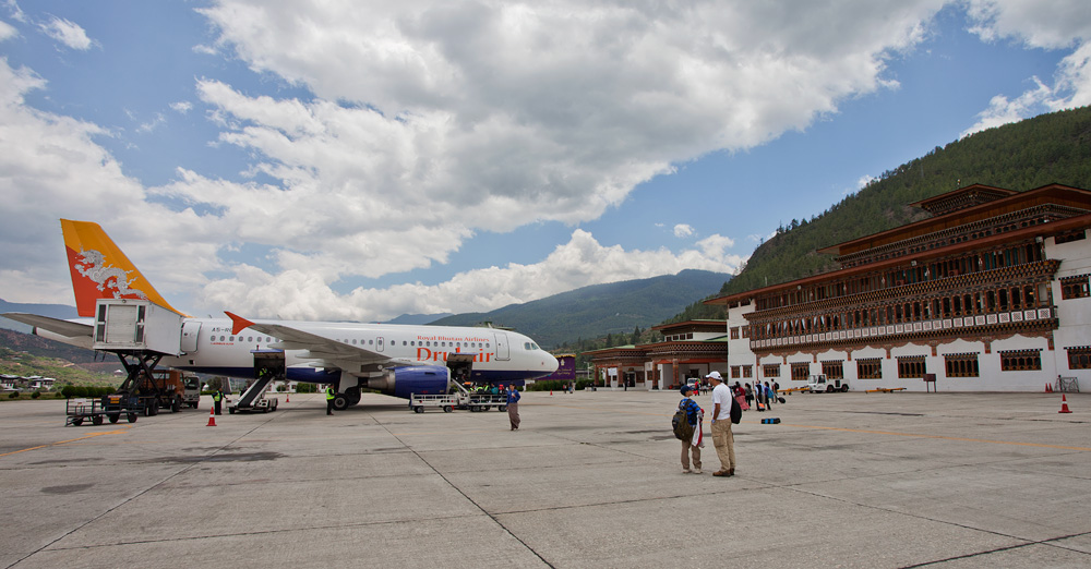 Aéroport international de Paro (Paro Aéroport) .2