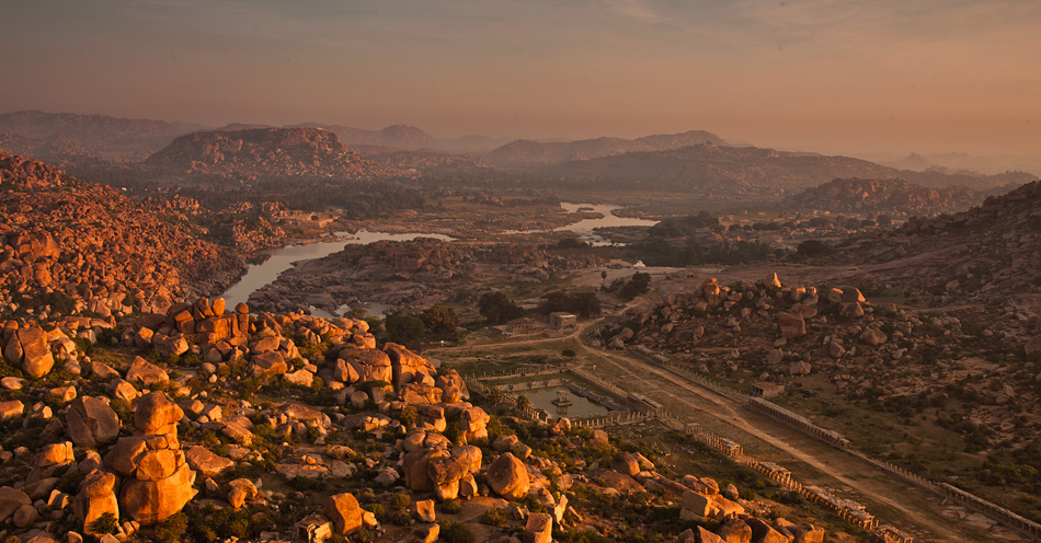 Morning Landscapes of Hampi