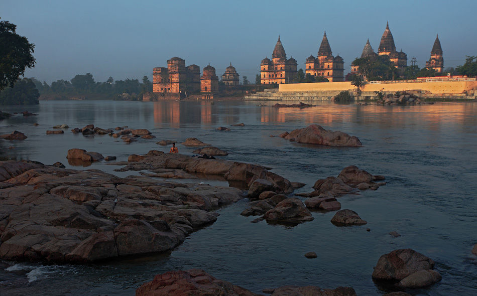 Cenotaphs or Chhatris of Orchha