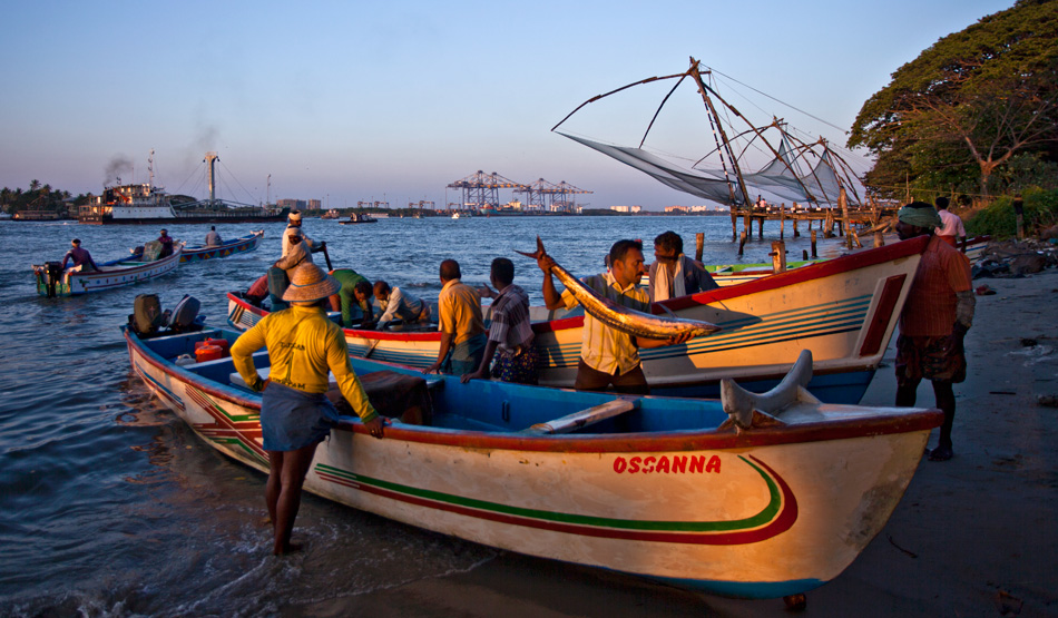 Fishermen of Fort Kochi