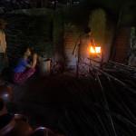 A potter's workshop outside Yangon, Myanmar.