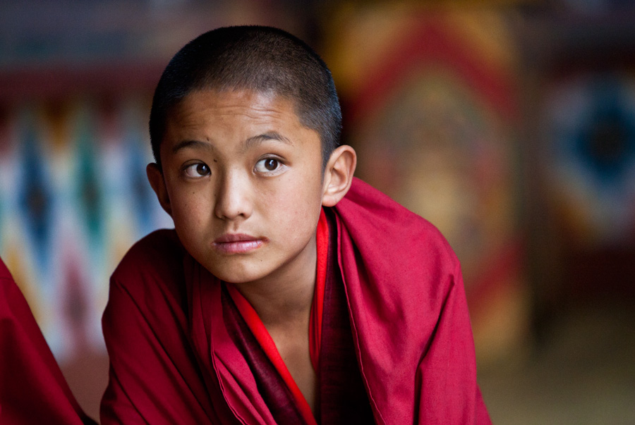 Bhutan - Young Monk