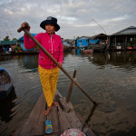 At a floating Village, Kampong Chhnang, Cambodia