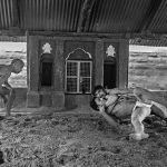 Wrestlers of Varanasi and making BW images
