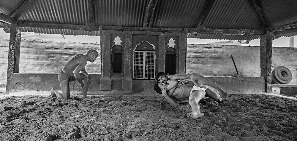 Wrestlers in Varanasi