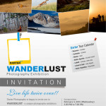 Invitation to WANDERLUST – Photography Exhibition