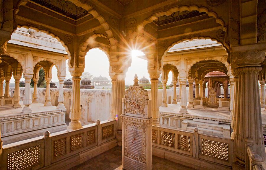 Chhatris - Bikaner, Rajasthan