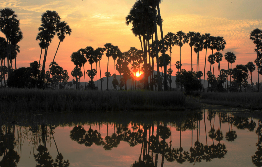 sunset-rural-cambodia