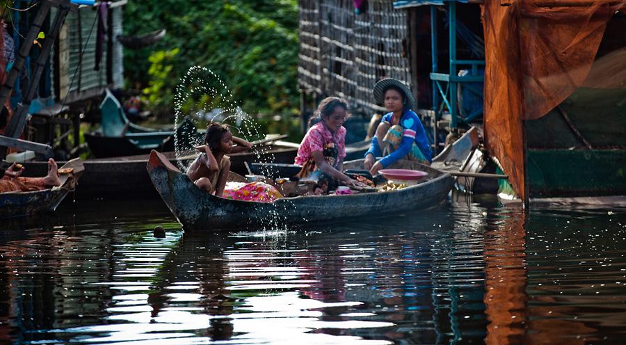 Life Tonle Sap Lake, Cambodia