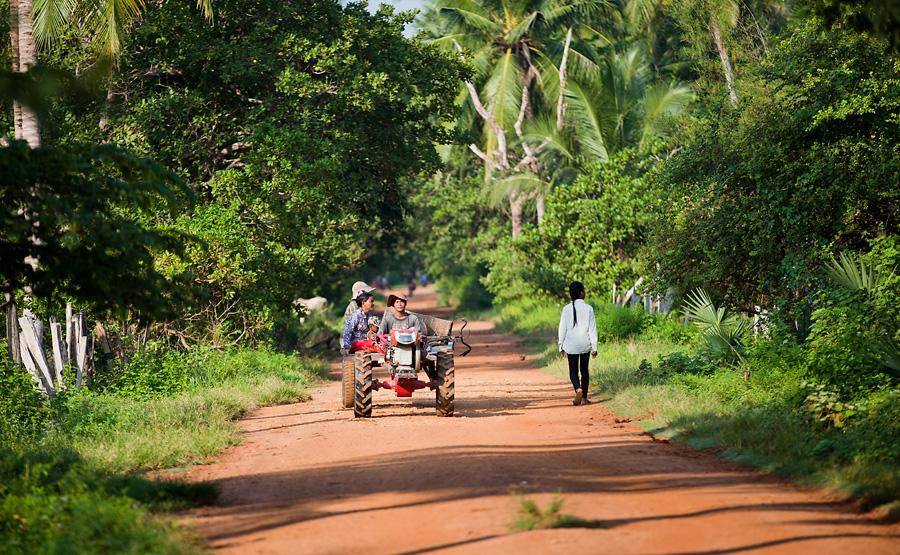 Cambodia Tropical Village