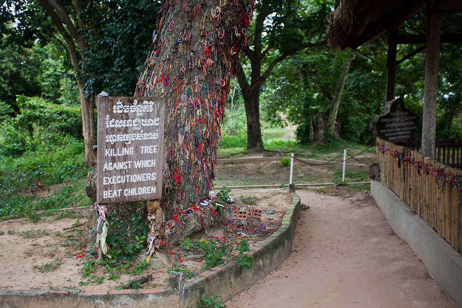 Killing Tree at Choueng Ek Killing Fields