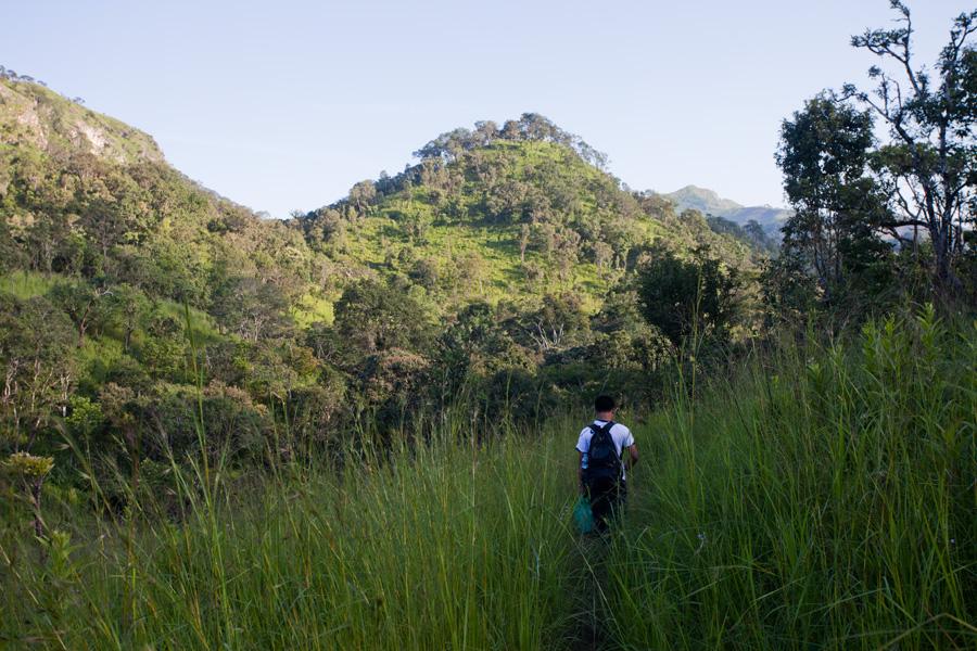 Trekking in Shan Hills