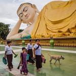 Updating from Myanmar…