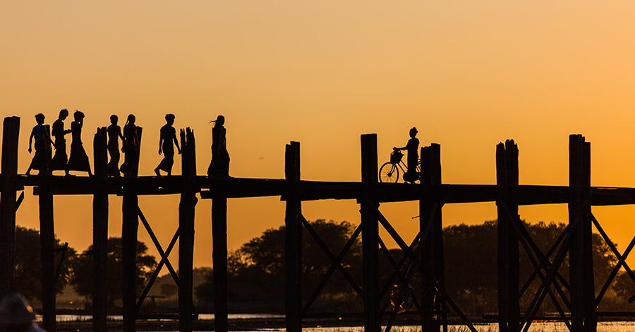 U-Bein Bridge Mandalay