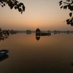 Sunrise at Gadisar Lake, Jaisalmer