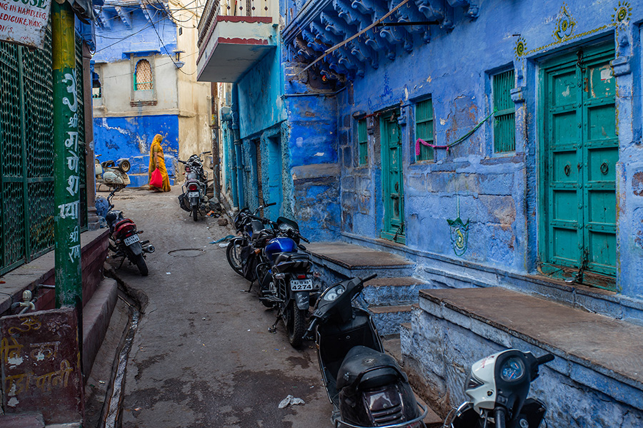 Streets of Blue City, Jodhpur