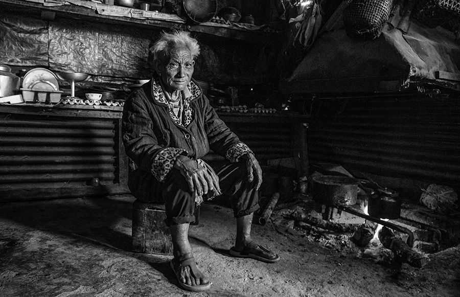 A portrait from Nagaland