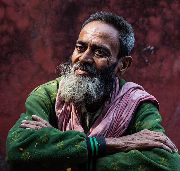 A Portrait from Varanasi