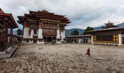 Gangtey Monastery, Bhutan